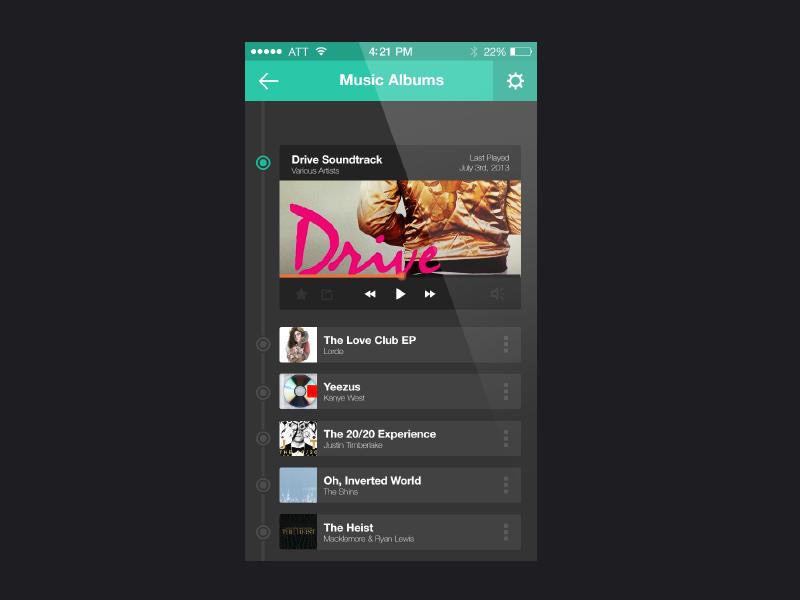Music app pixels