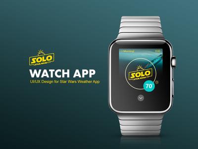 Apple Watch App UI Design