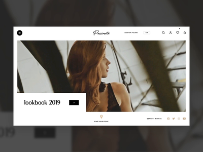 Lookbook concept for lingerie store beautifull beauty model sensual sexy underwear lingerie ui principle design adobe xd animation swipe motion 7ninjas
