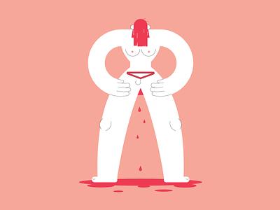 Women's rights women health strike abortion women rights illustrator woman vector illustration