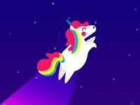 Unicorn whoooosh