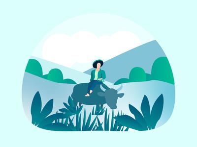Farmer Illustration ('Magsasaka')