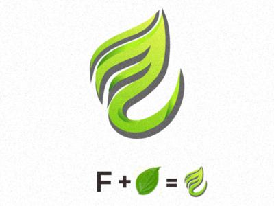 F leafe