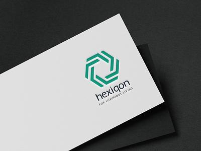 Hexiqon Volume icon design. logo design