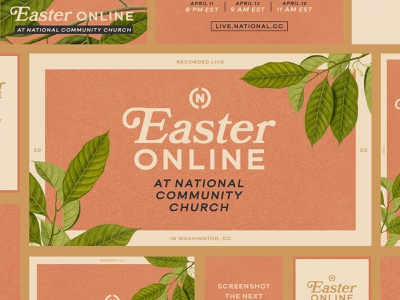 Easter 2020 dc organic plants life hope washington dc church easter
