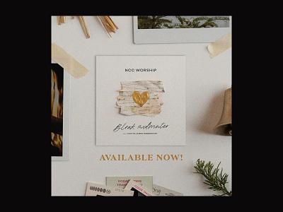Bleak Midwinter album art heart gold washington dc album artwork bleak midwinter winter album