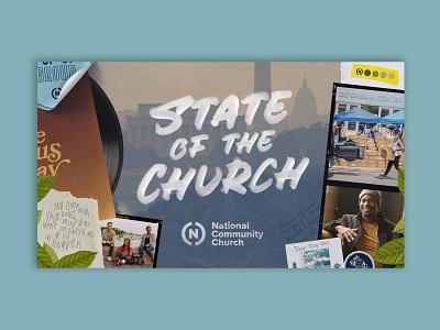 State of the Church 2021 series national community church sermon series washington dc art direction