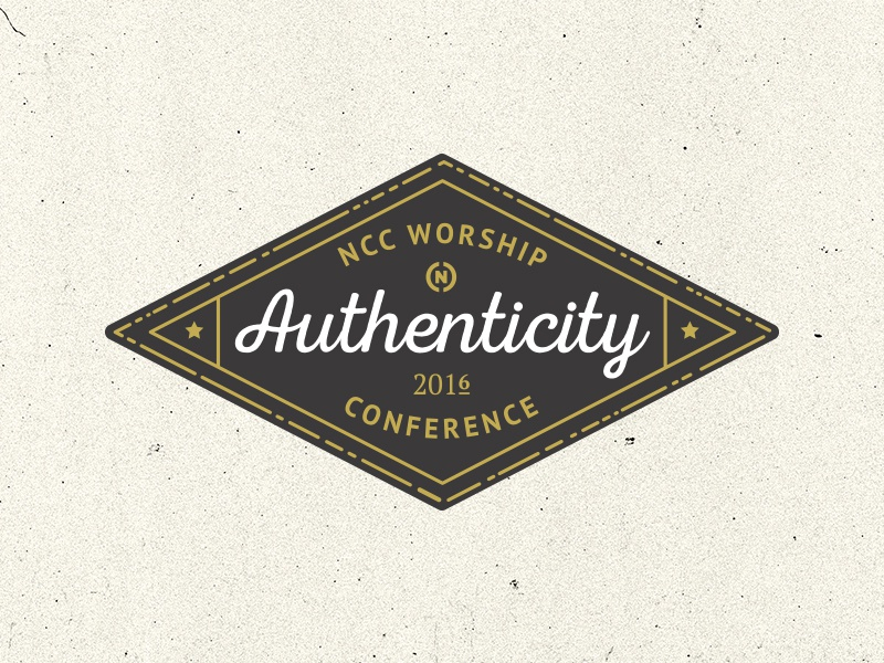 conference mark church national community church gold conference logo badge mark