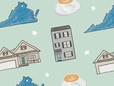 home state house illustration washington dc dc virginnia home