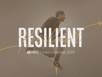 Resilient retreat church design bounce theme leap jump resilient