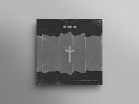 concept cover for The Jesus Way album jesus concept branding cover art lines waves cross music album cover
