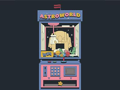 Astroworld illustraion illustrator illustrations cartoon rap illustration music travis scott