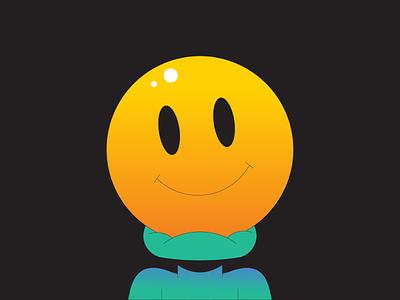 Crush illustration illustrator gradient smiley face emoji smile crush