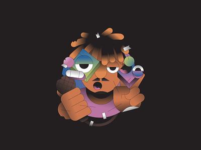 Juice illustration illustrator rap rapper musician