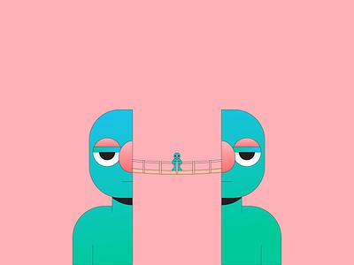 Dos gradient illustrator illustration abstract