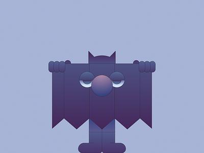 Bat gradient illustrator illustration batman