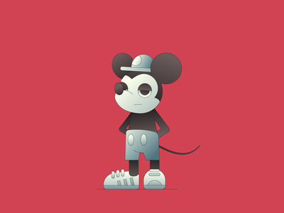 Mouse illustrator illustration characterdesign character mickey mouse disney