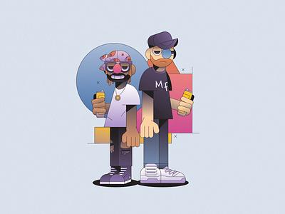 Dream Team vector icon abstract character simple gradient flat minimal illustrator illustration
