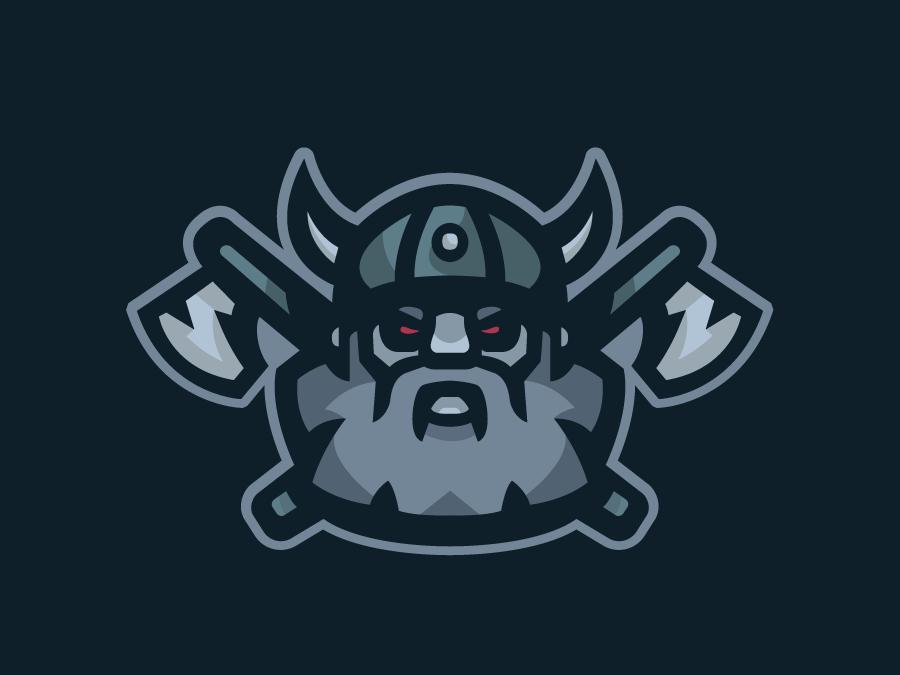 Viking Mascot logo design vector esportslogo mascot logo mascot illustration gamer esports esportlogo esport branding