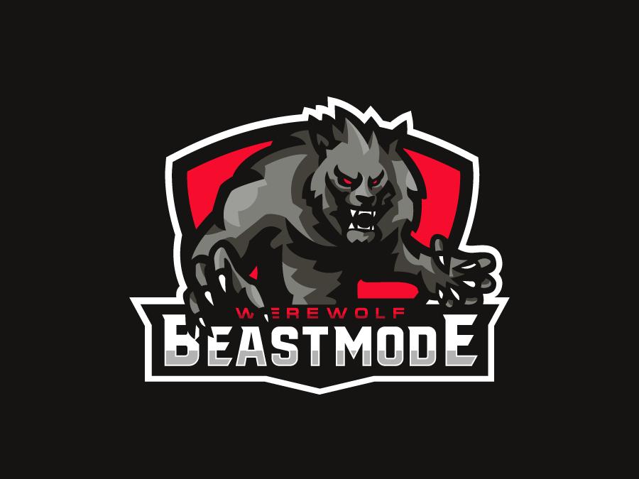 Werewolf Mascot wolf werewolf vector esportslogo mascot logo mascot illustration gamer esports esportlogo esport branding
