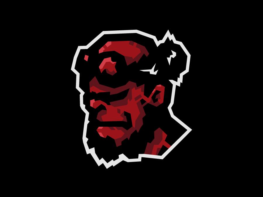 Hellboy devil hellboy design vector esportslogo mascot logo mascot illustration gamer esports esportlogo esport branding