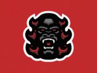 Flaming Gorilla