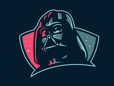 Darth Vader illustration gamer esports esportlogo esport branding villain robot scifi starwarsday starwars darth maul darth darthvader