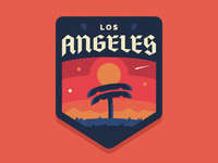 Los Angeles Badge