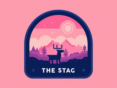The Stag Badge