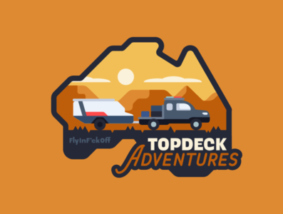 Topdeck Adventures Badge