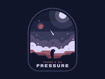 There's No Pressure In Space