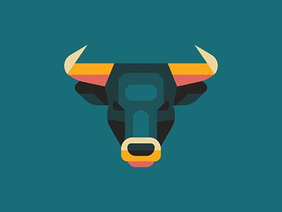 El Toro minimal mark animal logo icon spain shape geometric animal taurus toro bull