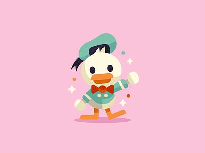 Donald Duck character design illustration dribbble art mascot design character disney duck donald mickey