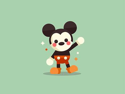 Mickey Mouse minimal cute dribbble mark logo design character goofy donald minnie mickey mouse mickey disney