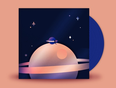 November // State Champs - Where I Belong astrology alone belong planet stars space music minimal 2d vector illustration