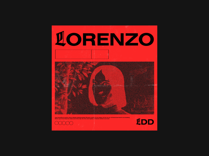 Lorenzo De Medici LP gothic design graphicdesign graphic designer music graphic design music design lp design graphic design florence italy historic lofi hip hop lofi blackletter typography sticker illustration design colors