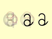 Single Letter Logo with guides #dailylogochallenge