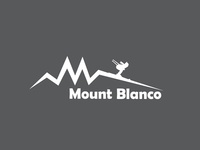 Ski Mountain Logo