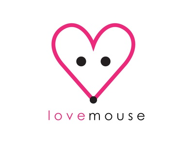 Love Mouse love day head logo mouse love mouse head lovo logo heart logo heart love mouse mouse logo
