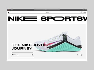 Nike Main Page - Interaction.mp4
