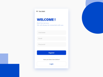 Sign Up - UI Mobile