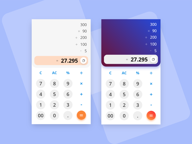 Calculator - Mobile App calculator ui illustration uidesign mobiledesign mobile app design uimobile ui shandykafdesign shandykaf app
