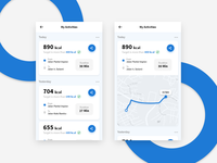 Running App - Mobile App