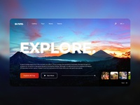 Explore Indonesia - Landing Page