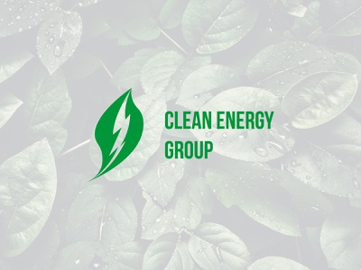 Clean Energy Group - Logo Restyling Proposal clean energy group energy clean designer graphic design design visual design brand identity brand design branding brand nature green leaf adobe illustrator illustrator adobe logo design logodesign logo