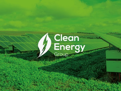 Clean Energy Group · Logo Restyling Proposal rebrand nature logo logodesign visual design branding design brand identity brand design logo design logo mark logo white nature leaf group clean energy clean ecology eco green typography