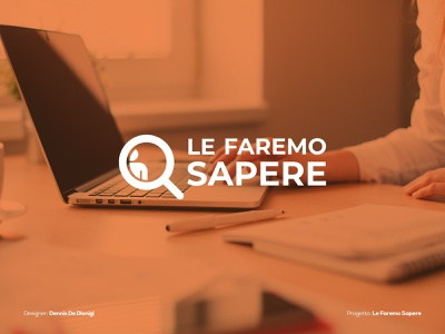 Le Faremo Sapere - Logo brand identity brand design brand visual design graphic design graphic logodesign logo design logotype logo information design information info design workspace working work in progress work job application job