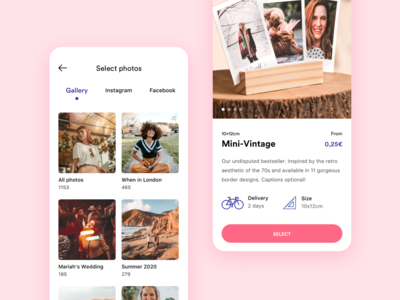 LALALAB - Photo printing app