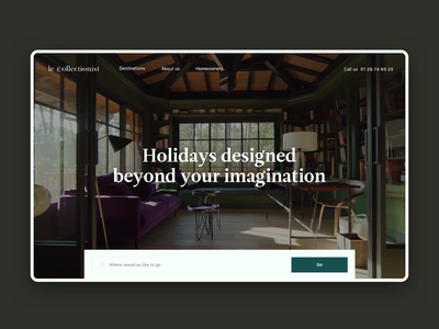 LeCollectionist - Luxury Vacation Rental Site