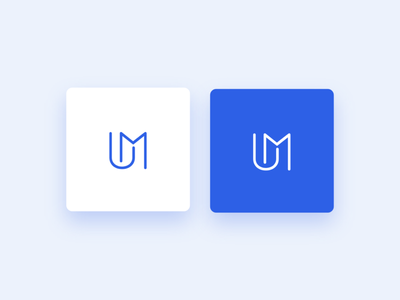 Logo Urban Media typography vector illustration minimalist logotypedesign logo logotype identity branding